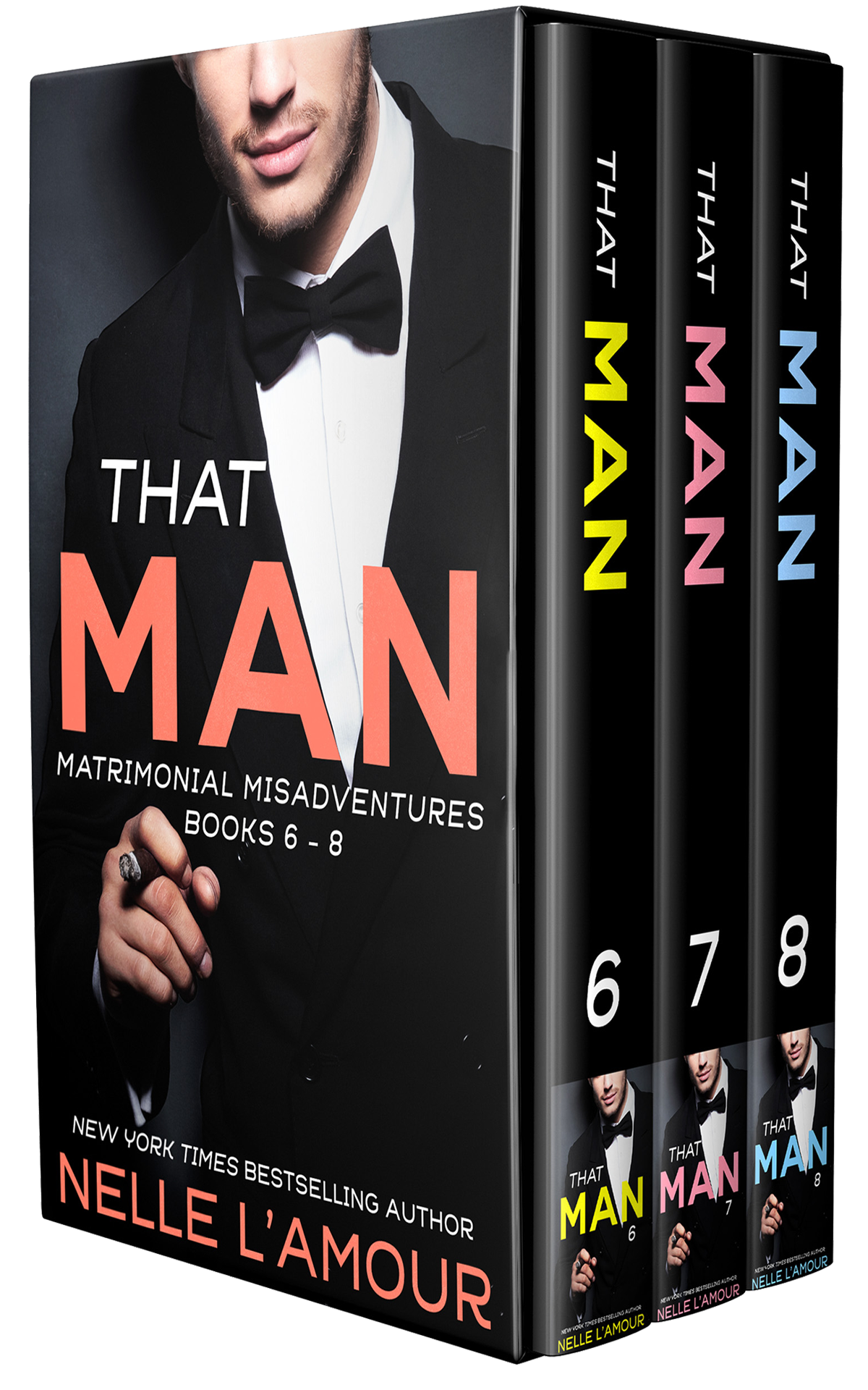THAT MAN: Matrimonial Misadventures Books 6-8